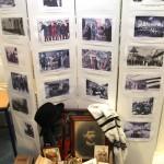 """Eine wunderbare kleine Ausstellung zur ewigen Wanderschaft der Juden hatte Tamara Sorina unter dem Motto """"Heimat im Koffer"""" zusammengetragen."""